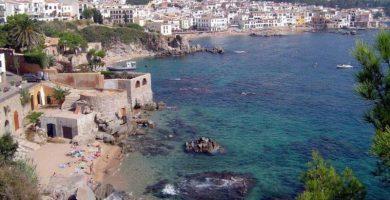 Playas de Caldes d'Estrac