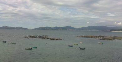 Playa A Calzoa en Vigo