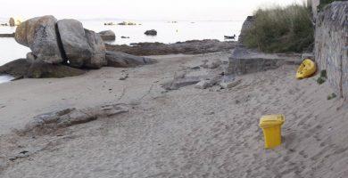 Playa A Cambra en Ribeira