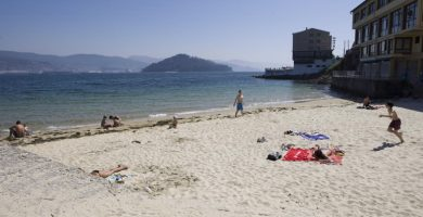 Playa A Canteira en Poio