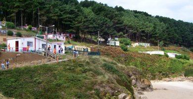 Playa A Caseta en Ferrol