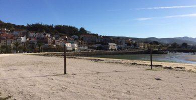 Playa A Concha en Cee