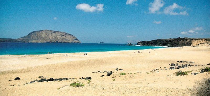 Playa A Concha en Vilagarcía de Arousa