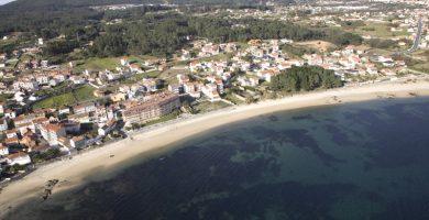 Playa A Corna en Ribeira