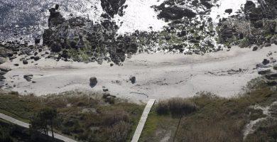 Playa A Covasa en Ribeira