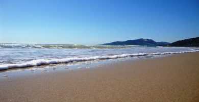 Playa A Dreira en Marín