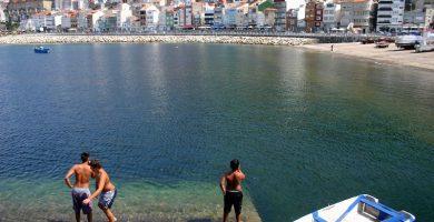 Playa A Lamiña en A Guarda