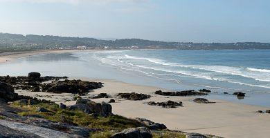 Playa A Lanzada en O Grove
