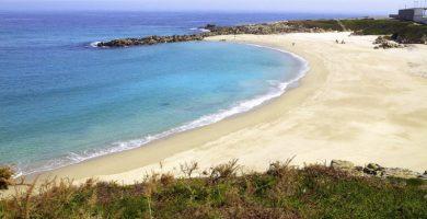Playa A Marosa en Burela