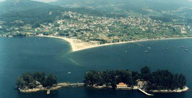Playa A Meda en Redondela