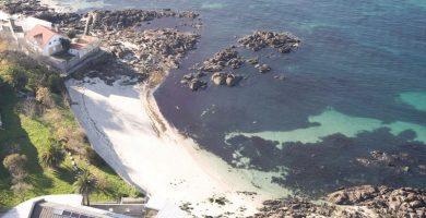 Playa A Mourisca en Vigo