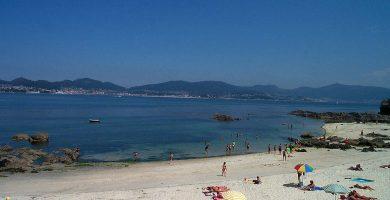 Playa A Noiva en Vigo