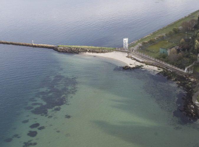 Playa A Punta en Vigo