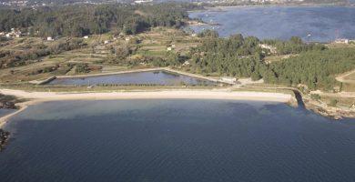 Playa A Retorta en Boiro