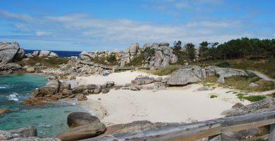Playa Abelleira en O Grove