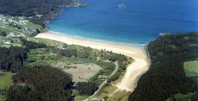Playa Abrela en O Vicedo