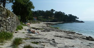 Playa Abruiñeiras en Noia
