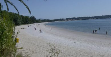 Playa Agramuiña en Boiro