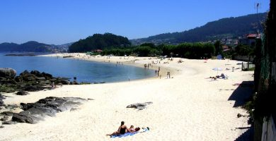 Playa Agrelo en Bueu