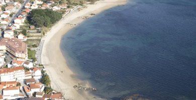Playa Agronovo en A Pobra do Caramiñal