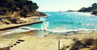 Playa Aiguafreda en Begur