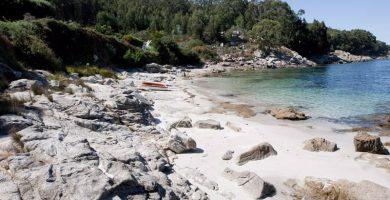 Playa Alada en Cangas