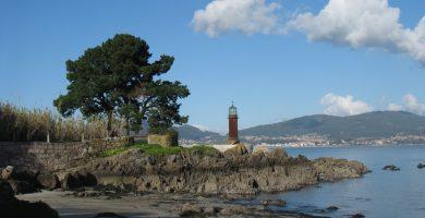 Playa Alcabre en Vigo