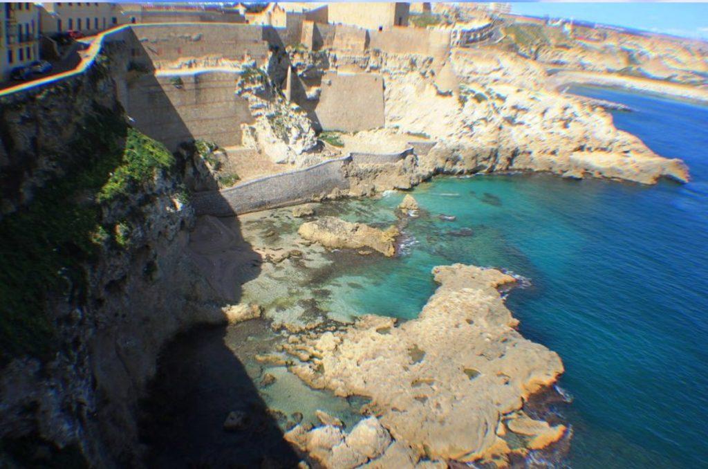 Playa Alcazaba en Melilla
