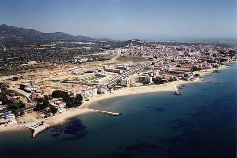 Playa Aldea Blanca en Sant Carles de la Ràpita
