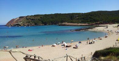 Playa Algaiarens en Ciutadella de Menorca