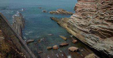 Playa Algorri en Zumaia