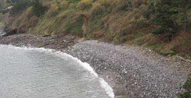 Playa Alkolea en Mutriku