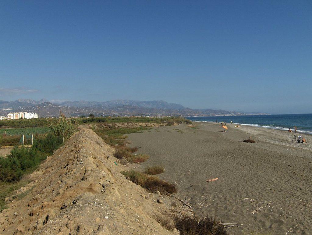 Playa Almayate en Vélez-Málaga