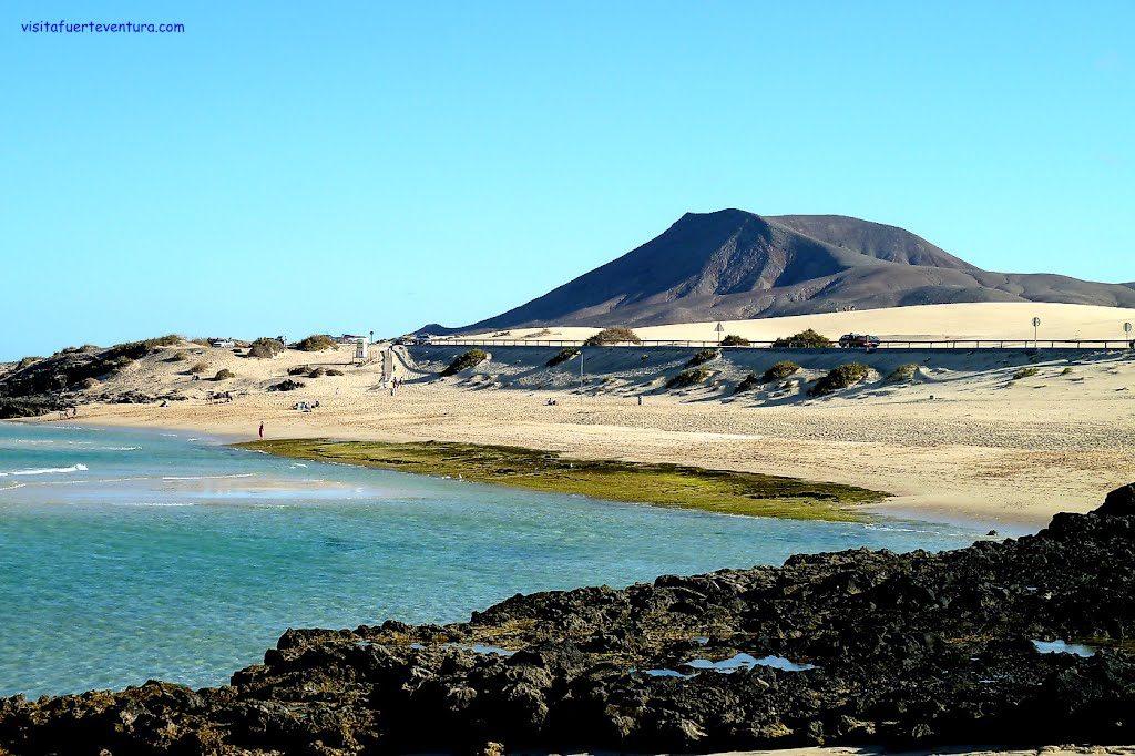 Playa Alzada en La Oliva
