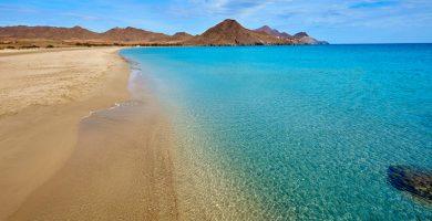 Playa Ancón de Cabo de Gata en Níjar