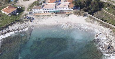 Playa Ancoradoiro en Muros
