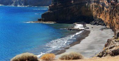 Playa Antequera en Santa Cruz de Tenerife