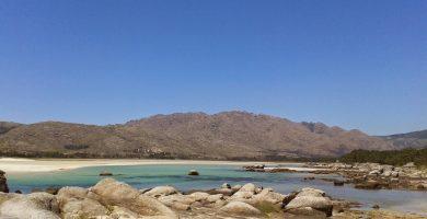Playa Ardeleiro en Carnota