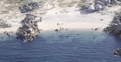 Playa Area Basta en Ribeira