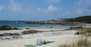 Playa Area da Cruz en O Grove