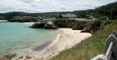 Playa Area da Fame en Foz
