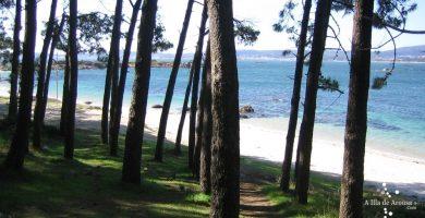 Playa Area da Secada en A Illa de Arousa
