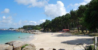 Playa Area Das Pipas en O Grove