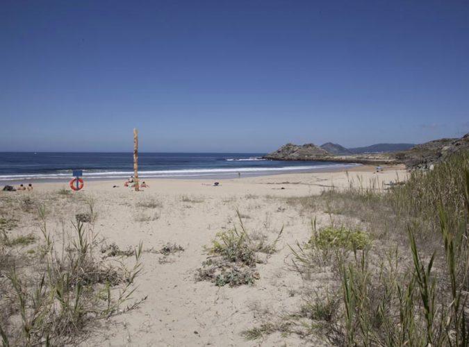 Playa Area Longa en Porto do Son