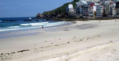Playa Area Maior en Muros