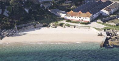 Playa Área Secada en Ribeira