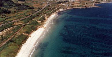 Playa Arealonga en Redondela