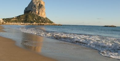 Playa Arenal-Bol en Calp