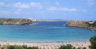 Playa Arenal d'en Castell en Es Mercadal