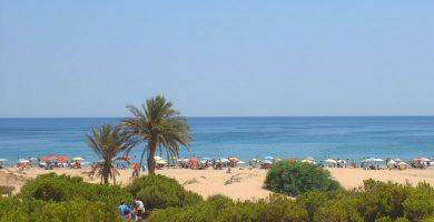 Playa Arenales del Sol en Elche